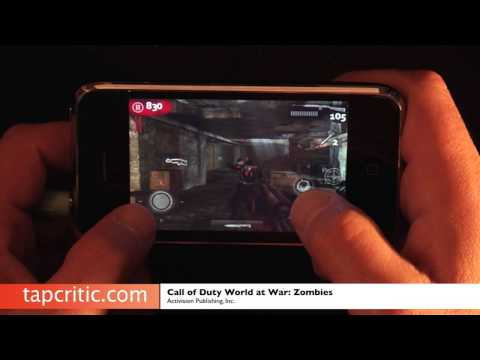 Call of Duty World at War Zombies iPhone / iPod Touch Review