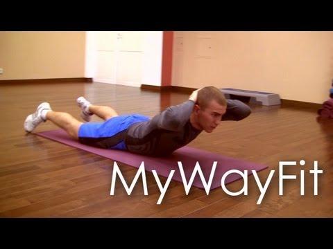 MyWayFit - Фитнес дом 13-14.04 (Тренировка: пресс, спина)