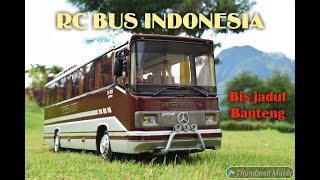 RC bus Indonesia  PO. TUNGGAL DARA bis malam Jadul