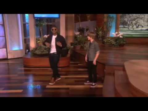 Justin Bieber and Usher DANCING (Ellen Degeneres Show)