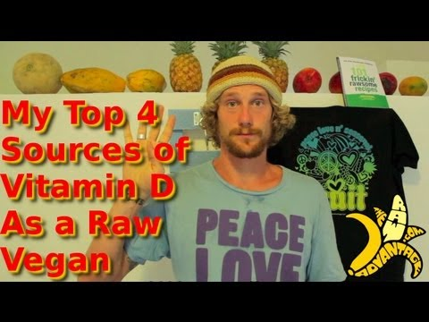 My Top 4 Sources of Vitamin D As a Raw Vegan
