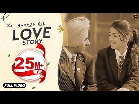 Love Story | Harman Gill | Yaar Anmulle Records | Official Video | Latest Punjabi Song video