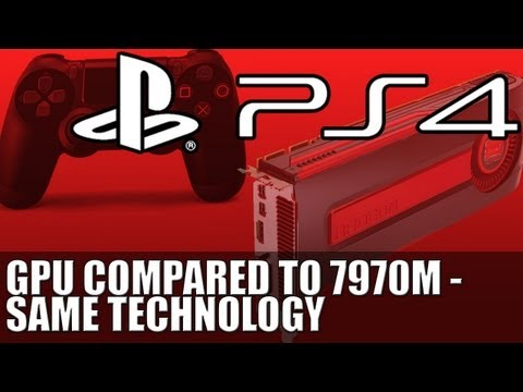 Ps4 GPU Compared to AMD 7970M - Same GCN Graphics Core The Playstation 4 and xBox 720 are Using