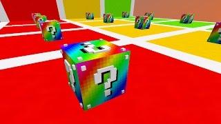 Смотреть игру майнкрафт с лаки блоками