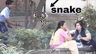 Best snake prank in INDIA 2019   ANS Entertainemnt