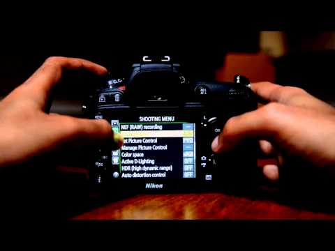 Nikon D7100 Tutorial. How to Tutorial Menu Set Up Guide Part 1