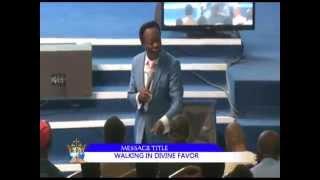 WALKING IN DIVINE FAVOR PART 1 PREACHED BY BRO. JOSHUA IGINLA.