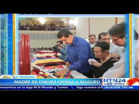 Madre de Hugo Chávez le reclama a Nicolás Maduro por la muerte de su hijo Anibal