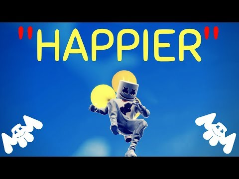Happier -- Fortnite Music Video -- Marshmello/Bastille