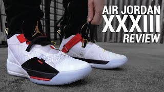 Air Jordan 33 Lifestyle Review & On Feet