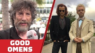 Neil Gaiman on What to Expect in Good Omens - Comic Con 2018
