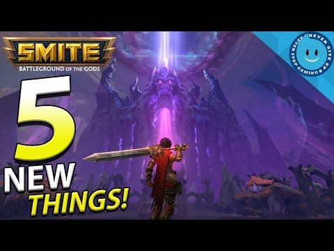 THE 5 MOST EXCITING THINGS ABOUT SMITE SEASON 5!