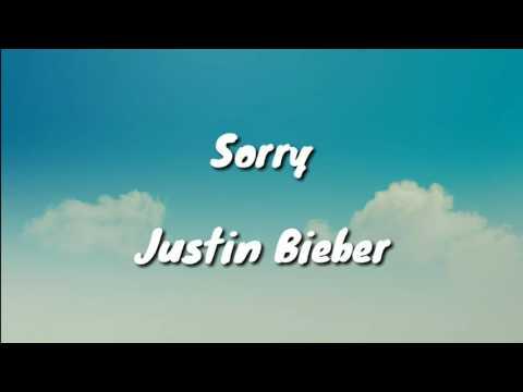 Sorry - Justin Bieber (Lyrics)