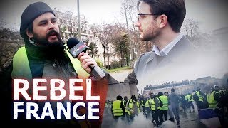 """Macron won't listen, """"not yet."""" Interview with Yellow Jacket protester 