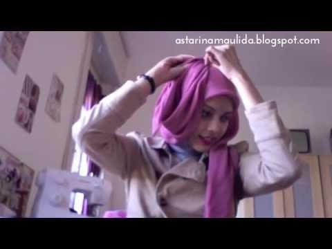 Jilbab Modern Paris Segiempat (4 styles) | Tutorial Hijab by Astarina Maulida #4