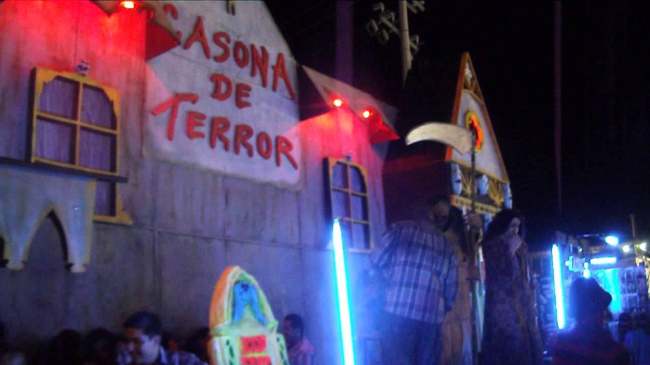 Casona del terror fenapo 2013 youtube - La casona del jardin ...