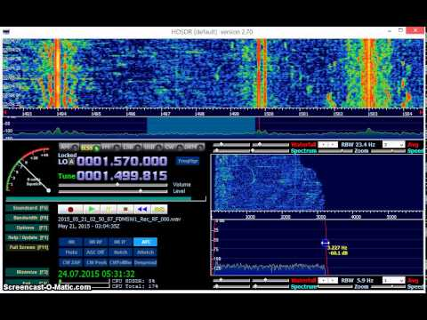 MW DX: Radio Santa Rosa 1500 kHz from Peru received in Germany on Elad FDM-S2