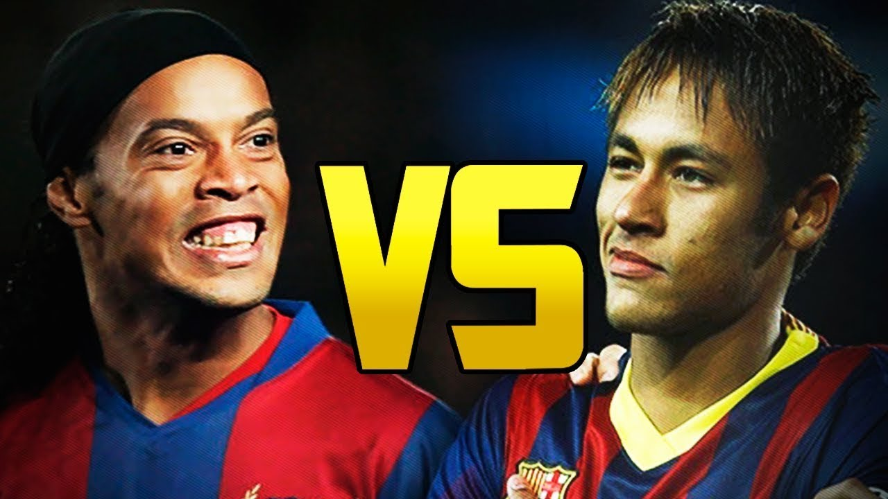 Neymar Vs Ronaldinho 2012 Neymar VS Ronaldinho Brazilian