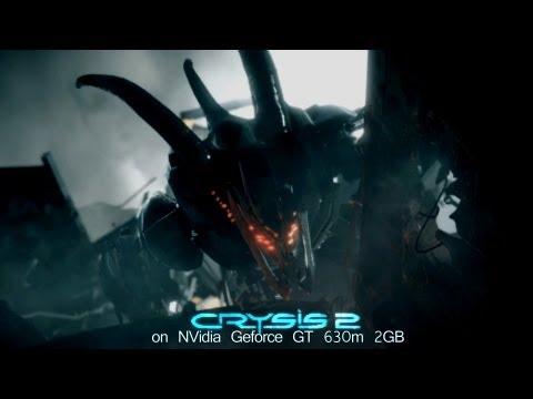 Crysis 2 on NVidia Geforce GT 630M 2GB