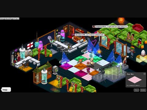 habbo night club dancing - YouTube