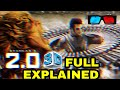 Robot 2.0 3D Glasses full explanation, 3D Screens, 3D Technology Robot 2.0, Akshay Kumar, Rajnikant
