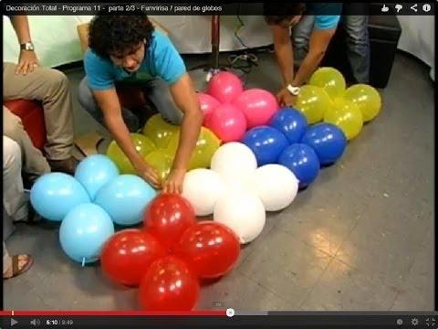 Funvirisa / pared de globos - Programa 11 -  parte 2/3
