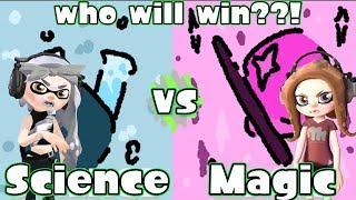 Science VS. Magic (part 2)   Splatoon 2 : Custom Splatfest