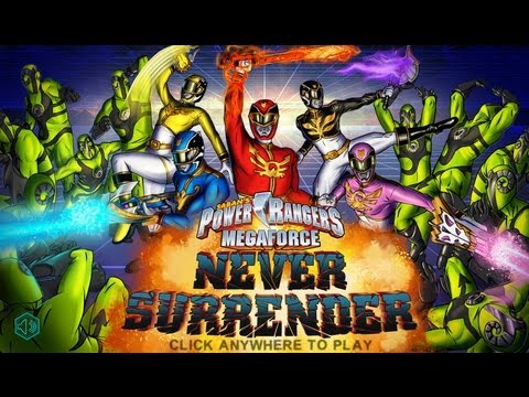 Games: Power Rangers Megaforce - Never Surrender