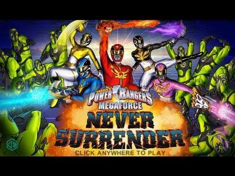 Games: Power Rangers Megaforce - Never Surrender