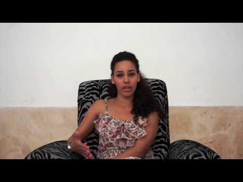 Marianne, cantante / Cuba