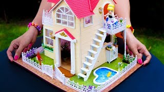 DIY Cinderella Doll House With Pool