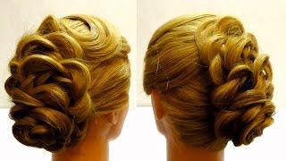 Видео уроки причесок косы