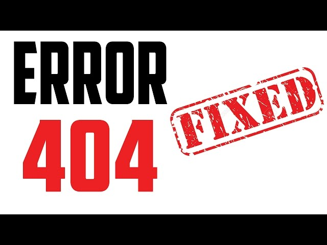 Error 404 not found - The Requested URL was Not Found on This Server thumbnail