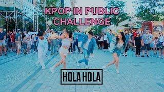 Download Lagu [EAST2WEST] Dancing Kpop in Public Challenge: KARD - Hola Hola Gratis STAFABAND