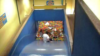 Ball Pool Ball pit dropslide fun part 2 at cornwall