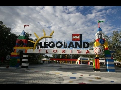 Legoland Florida 2013 Tour and Overview - HD - Winter Haven, Florida