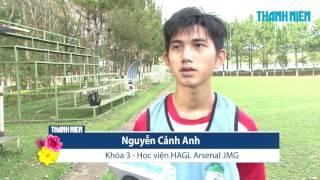 Một ngày tại học viện bóng đá HAGL Arsenal JMG