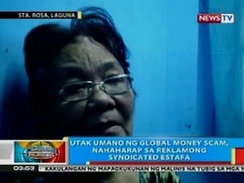 BP: Utak umano ng Global money scam, nahaharap sa reklamong sundicates estafa