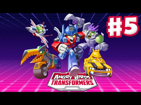 Angry Birds Transformers - Gameplay Walkthrough Part 5 - Lockdown Rescue! (iOS)