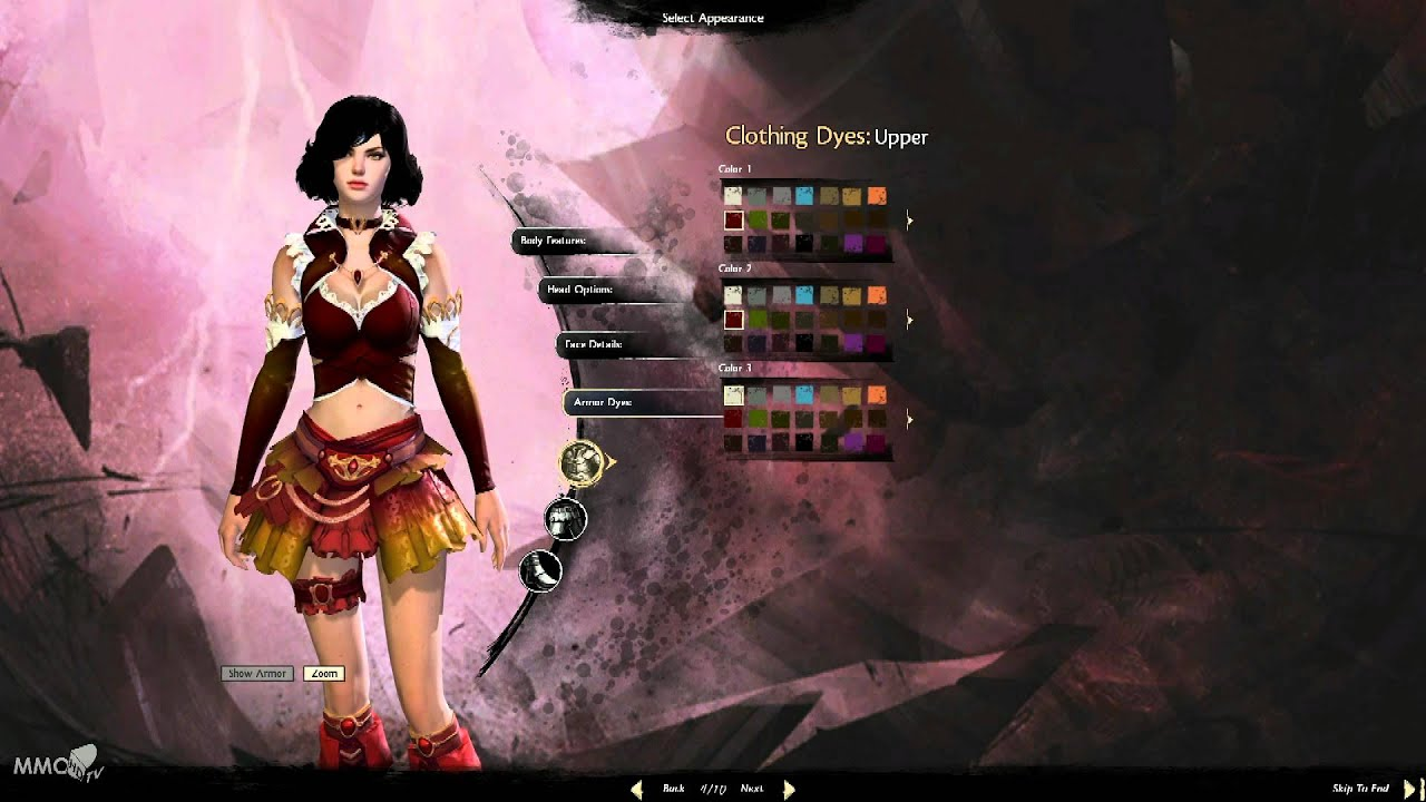 Guild Wars 2 Anime Characters : Guild wars character creation human female elementalist