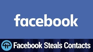 Facebook Steals Email Contact Lists