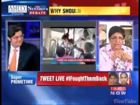 Hypocrisy of Kiran Bedi exposed.