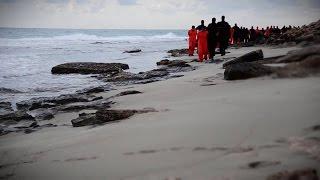داعش يعلن ذبح 21 مصريا في ليبيا