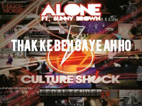 CULTURE SHOCK - KALEYAN (Alone) ft. SUNNY BROWN - 2.5 LEGALTENDER...