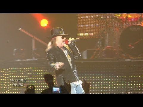 AXL ROSE ON WHY HE WON'T BE AT GUNS N' ROSES ROCK HALL, ADLER COMMENT FALLOUT?