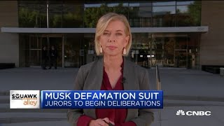 Closing arguments set to begin in Elon Musk defamation case