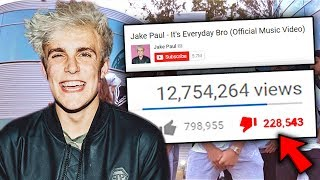 Top 10 MOST HATED YOUTUBER SONGS! (Jake Paul - Its Everyday Bro, Bibi H - How it is & More)