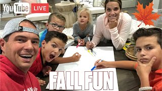 FALL BUCKET LIST PLANNING WITH TIHWB FAMILY LIVE! FAMILY FUN FOR FALL