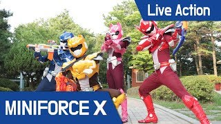 [MiniForceX] Live Action - Nerf Game / Monster / Zombie / Nerf Gun