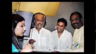 Kochadaiyaan - News - Rajinikanth sings a song for Kochadaiyaan - E Buzz
